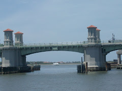 The fully restored Bridge of Lions is back in St. Augustine's harbor....