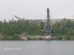 Quarry closed for the August Holiday. Killarney, ON