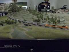 Chicago Science Museum-train goes from Chicago to Seattle. Neat.