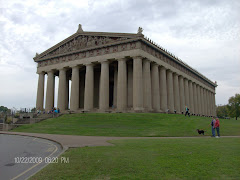The Parthanon in Nashville's Centennial Park. A full scale replica of the Greek Parthenon