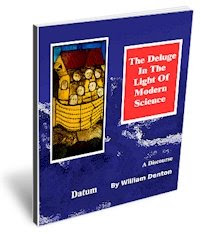The cover page of the EBook The Deluge In The Light Of Modern Science.