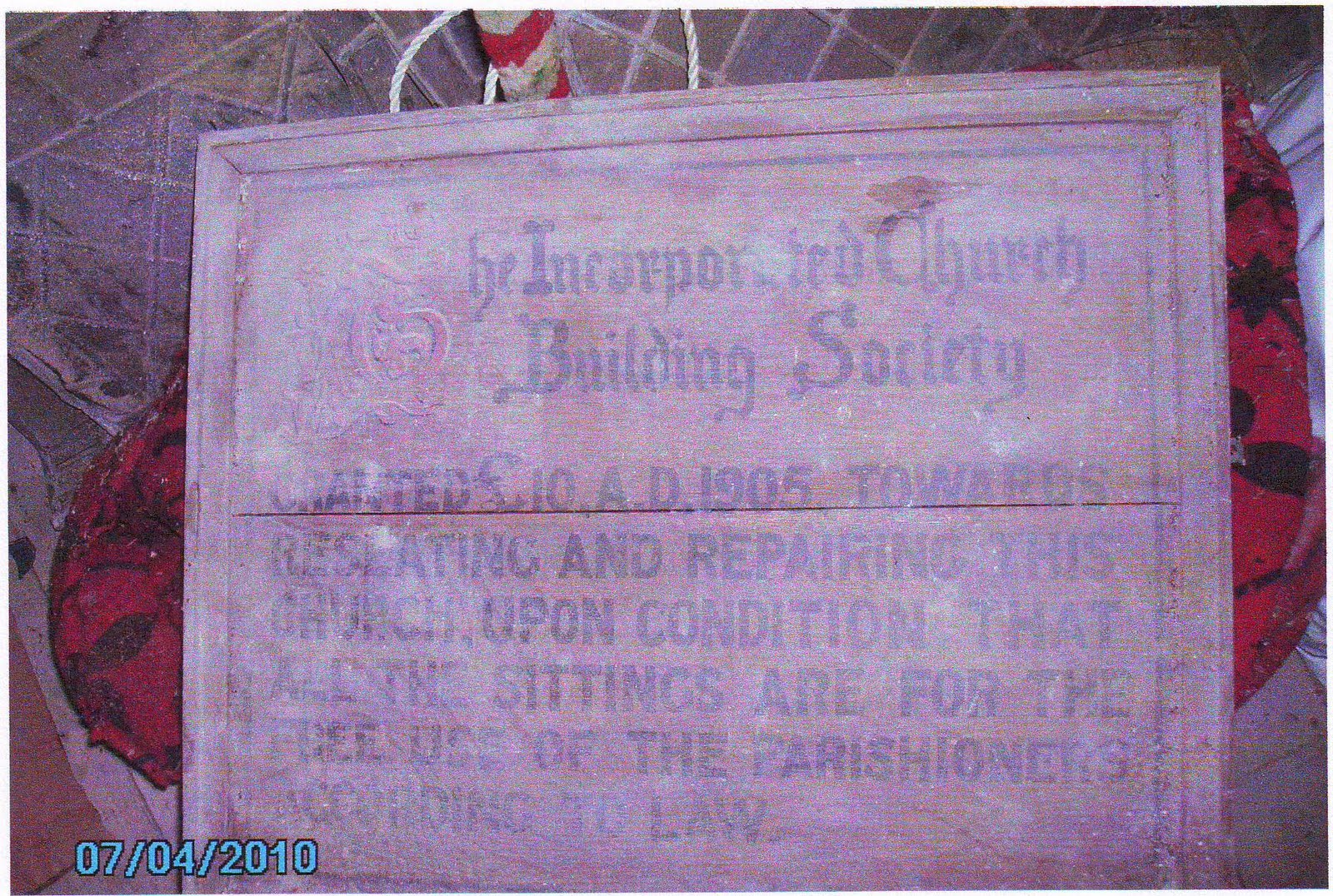 1905 25th March A Parish Meeting was