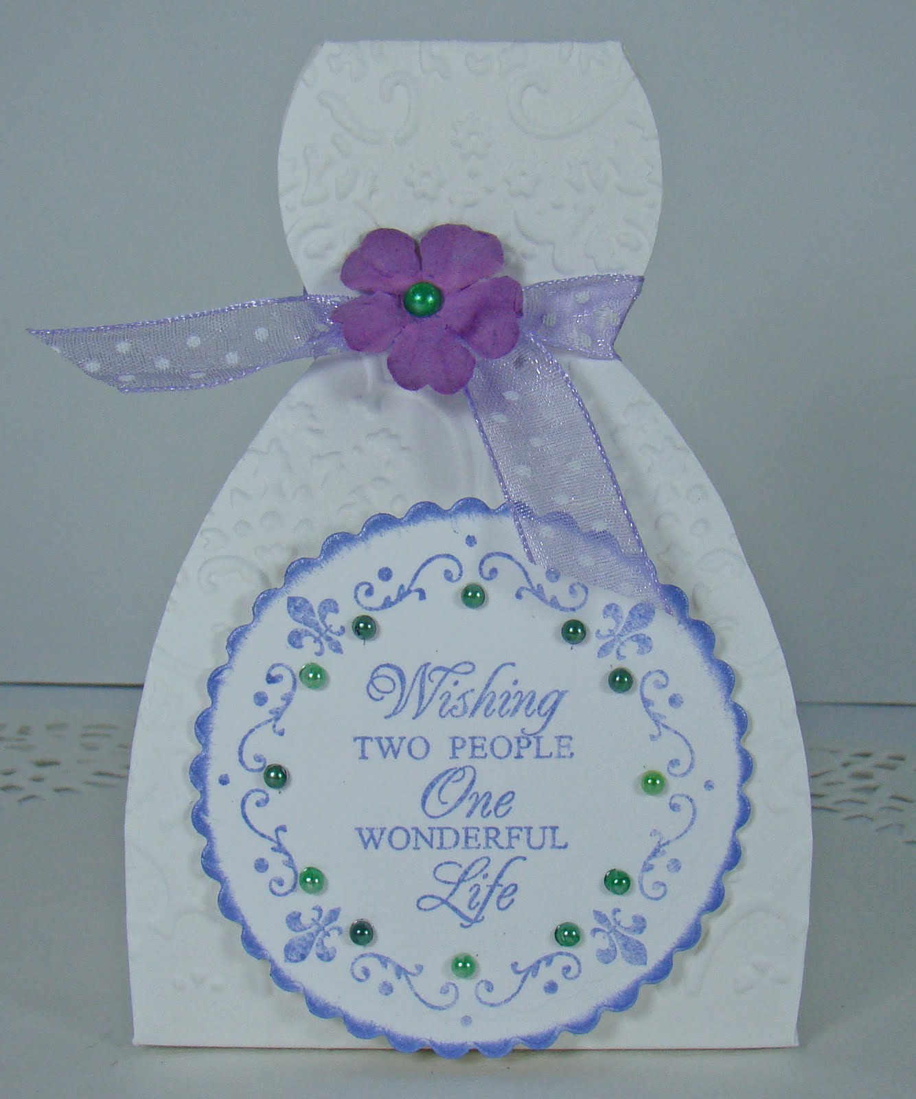 Snippets of Paper: Bride and Groom Favor Boxes