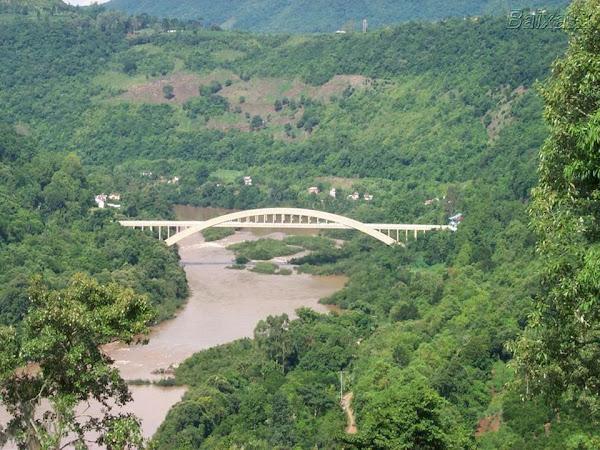 Ponte sobre o Rio das Antas Serra Gaucha