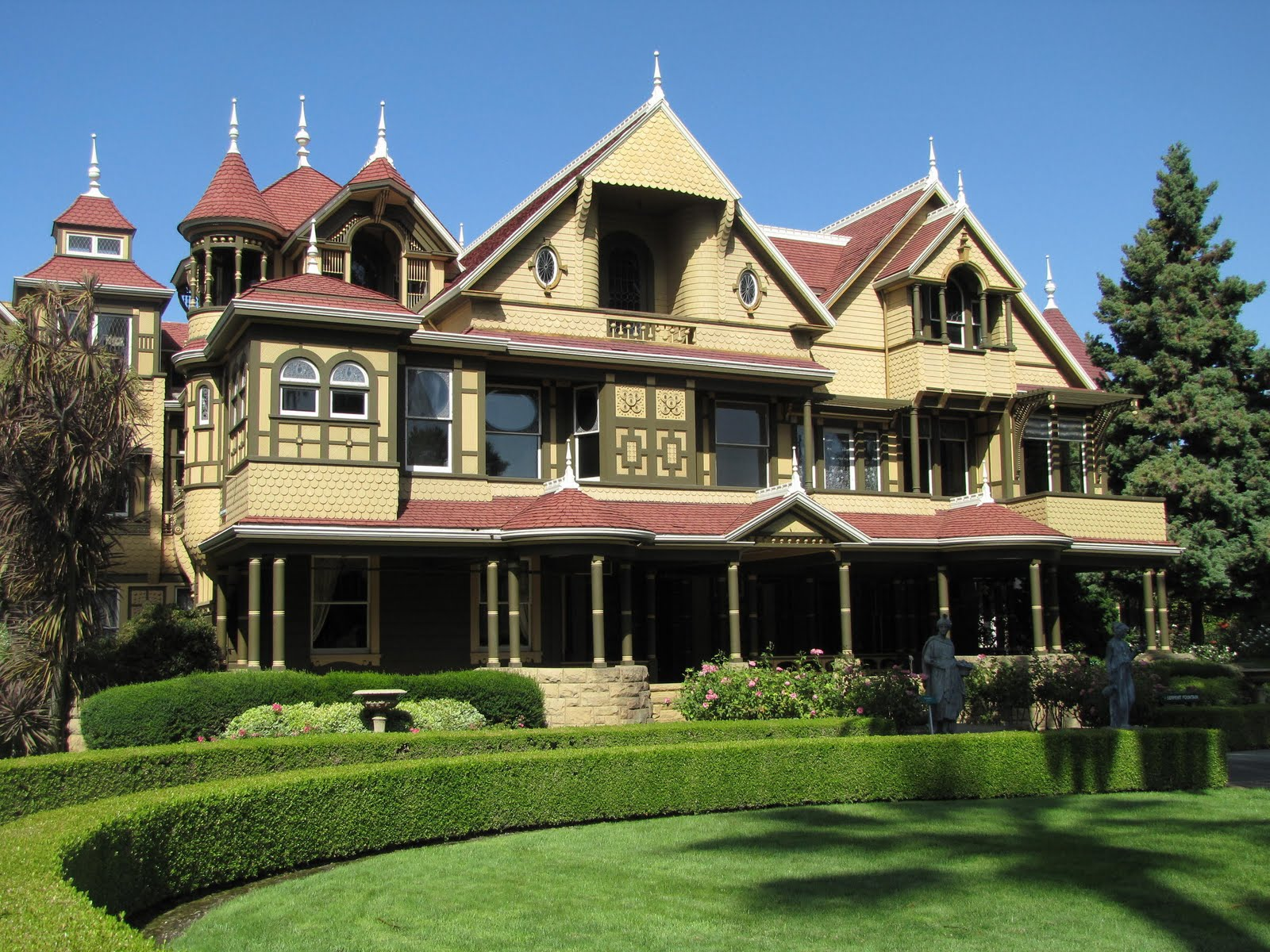 onearip The Winchester House to Yosemite