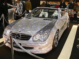 Diamonds Best covered into a Car