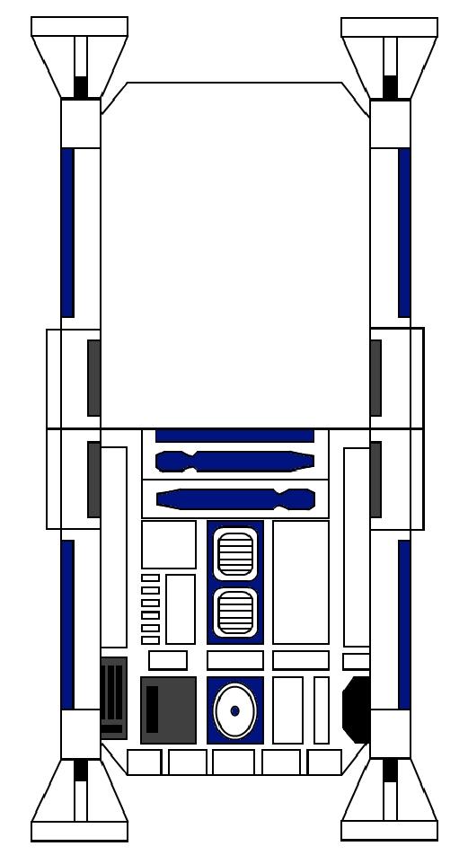 Star Wars R2 D2 CardInvitation And Princess Leia Cake One Zillion Books