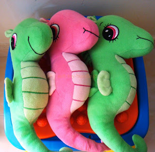 item  p38 # cute green sea dragon (M) SOLD