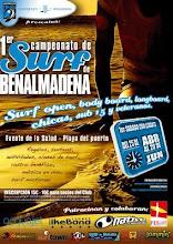 campeonato de surfing Benalmadena!