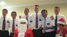 Christmas with Pres Santa