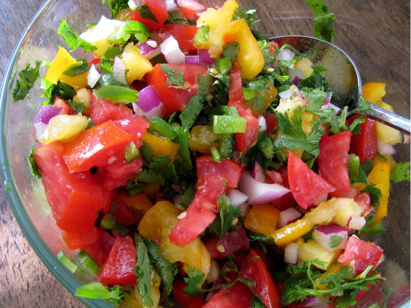 fresh salsa garden fresh salsa recipe myrecipes fresh garden salsa ...