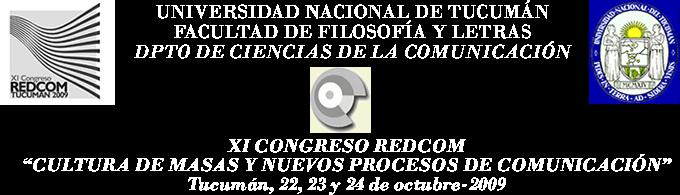 XI CONGRESO REDCOM Tucumán 2009