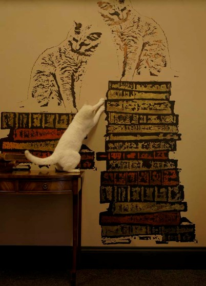 Plantillas de gatitos para decorar la pared de casa - Plantillas pared ...