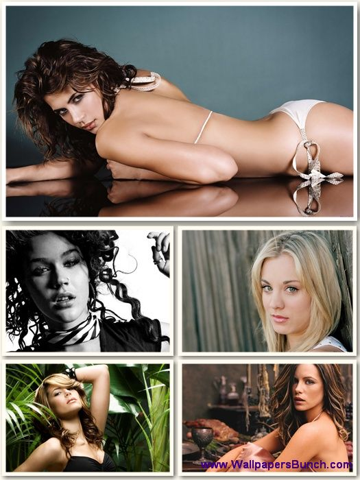Hollywood Celebrities WideScreen Wallpapers Pack