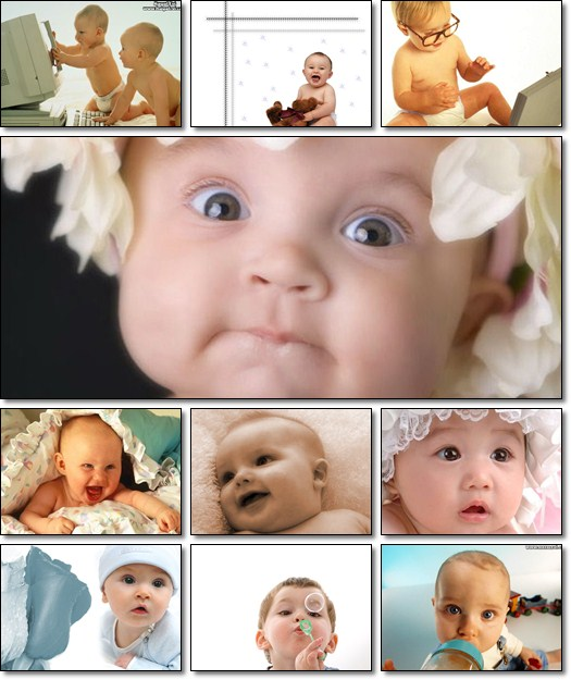 Little Baby Wallpapers Collection Pack