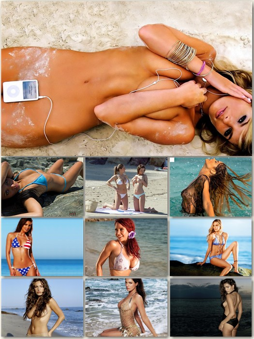 wallpapers sea. Girls and Sea Wallpapers Pack
