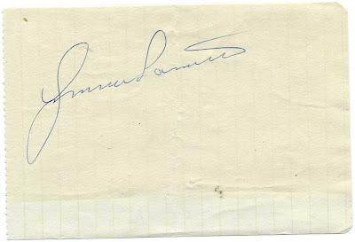 Autograf: Gunnar Larsson.
