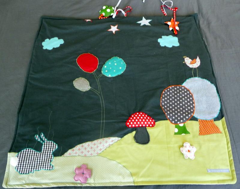 tuto tapis de jeu nomade top objectif zro dchets. Black Bedroom Furniture Sets. Home Design Ideas