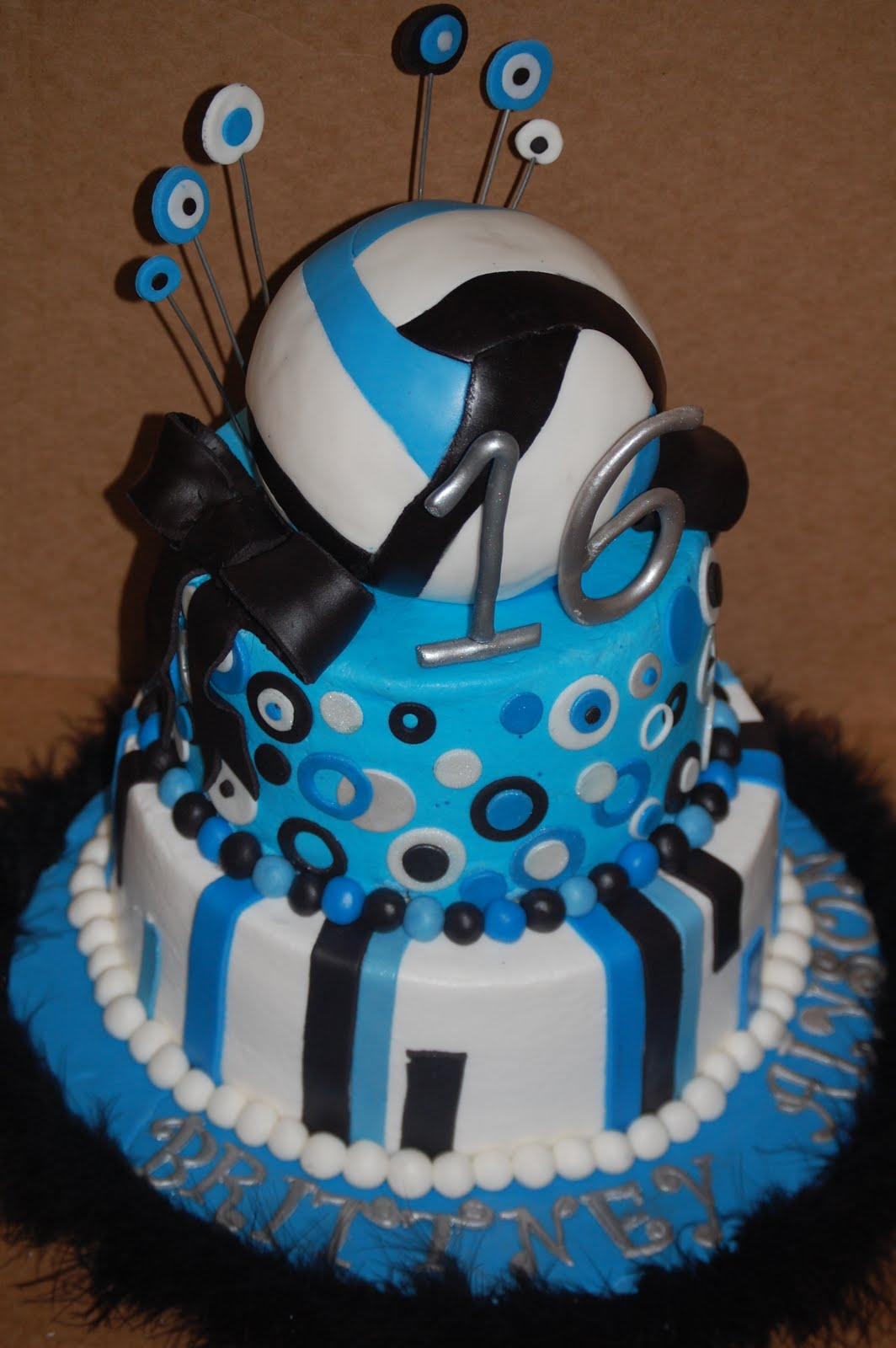Volleyball Cakes