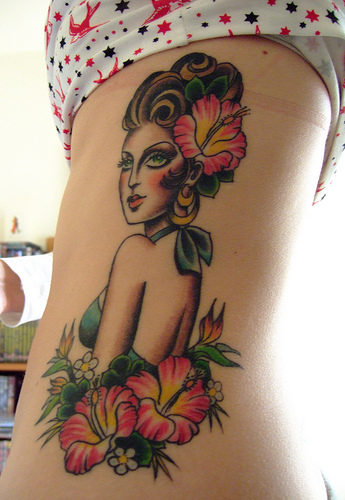 girl tattoo ideas on ribs. tattoo Rib Tattoos for Girls