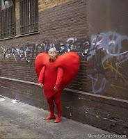 carnaval disfraz corazón
