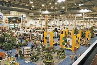 the enormous gardening trade show
