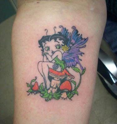 Tatuagem Betty Boop