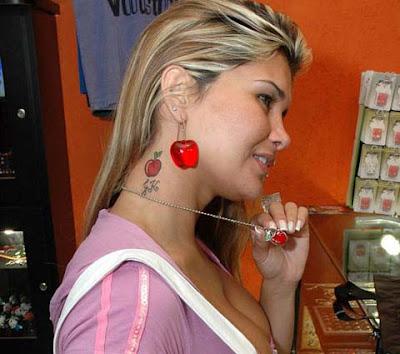 Tatuagem da Mulher Maçã