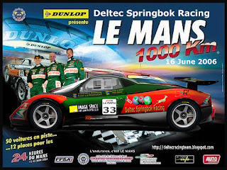 Deltec Springbok Racing to compete in 24 Hour Le Mans Race