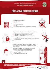 Guía de Autoprotección: Como actuar en caso de incendio.
