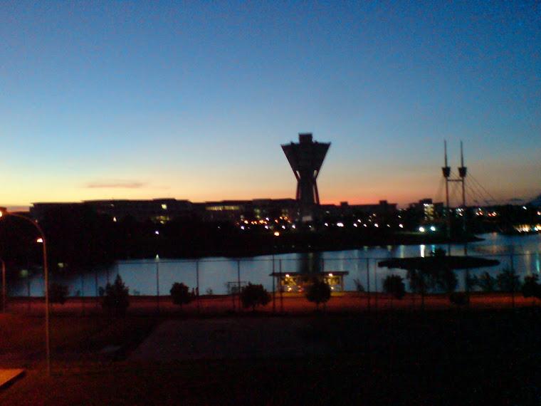 sunset @ unimas