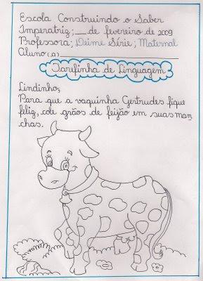 digitalizar0004 Tarefinha de linguagem para crianças