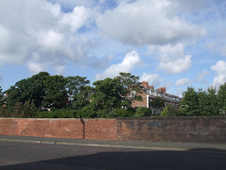The site of the now Demolished Heaton Railway Station on North View