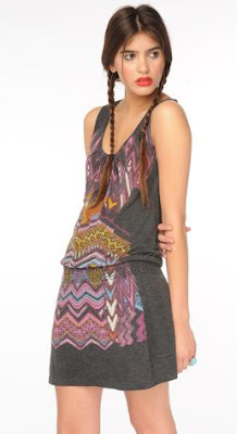 tribal tank dress