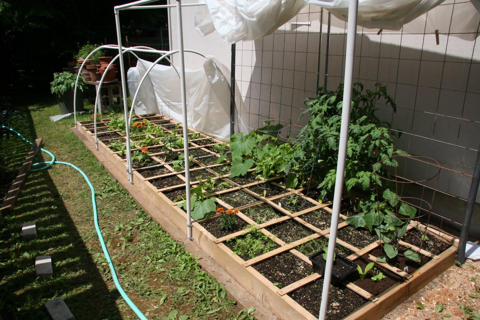 Charming Square Foot Garden Materials List