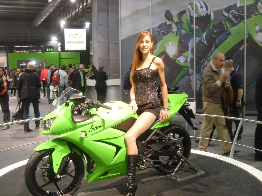 2009 Kawasaki Ninja 250 R Babe