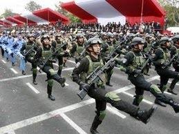 GRAN PARADA Y DESFILE MILITAR PERÚ 2014