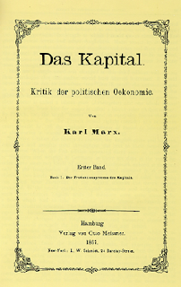 Das Capital written by Marx
