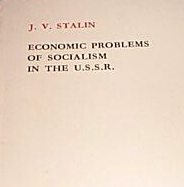 Economic Problems of Socialism in the U.S.S.R. stalin Book