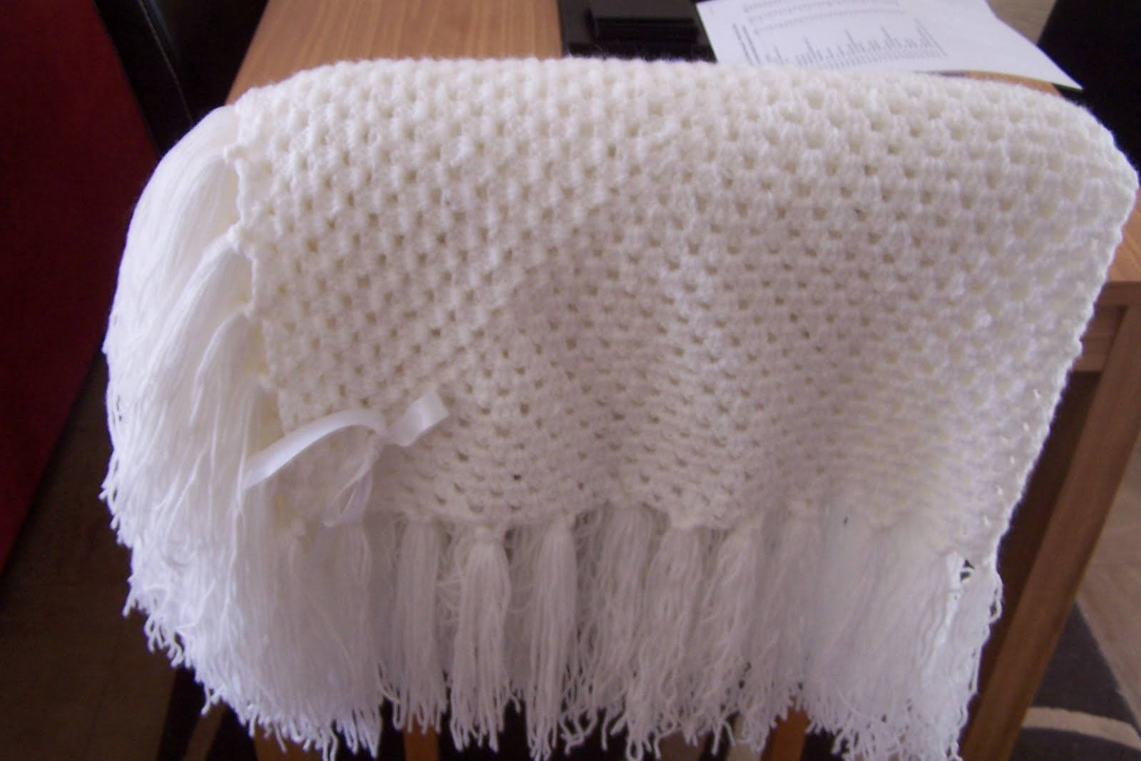 Crochet Patterns Christening Shawls : Sew Susan: Christening Shawl:
