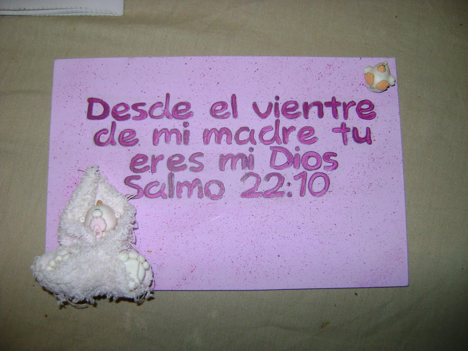 Versos biblicos para baby shower - Imagui
