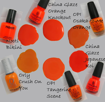 Nail Trend Alert - Orange | All Lacquered Up : All Lacquered Up