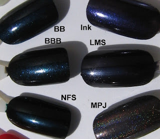 nbbluecomp OPI Night Brights Review