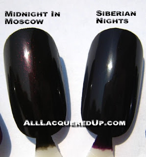 russianwheel6 OPI Russian Collection Swatches