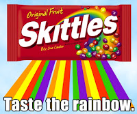 skittleslogo Wear The Rainbow
