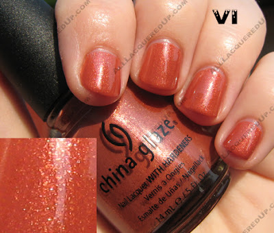 6 China Glaze X Collection