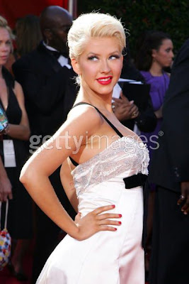 christinaaguilera Celebrity Nail Watch   Christina Aguilera