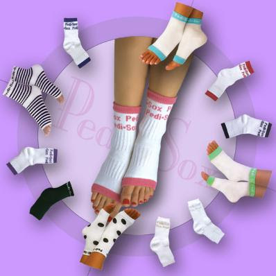 Nail Tip Of The Week: Pedi Socks