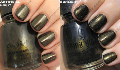 china glaze, fall 2008, nail polish, nail lacquer, nail color, rodeo diva, wagon trail