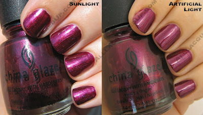 china glaze rodeo diva fall 2008 cowgirl up China Glaze Rodeo Diva   Flannel Fixation